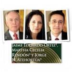 Jaime Eduardo Ortiz C., Martha C. Rendón M., Jorge H. Atehortúa R.